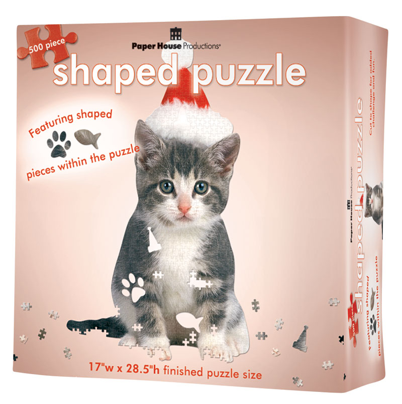Holiday Kitten Cats Jigsaw Puzzle