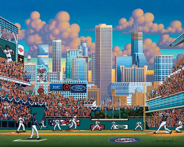 Minnesota Twins - Scratch and Dent Sports Jigsaw Puzzle