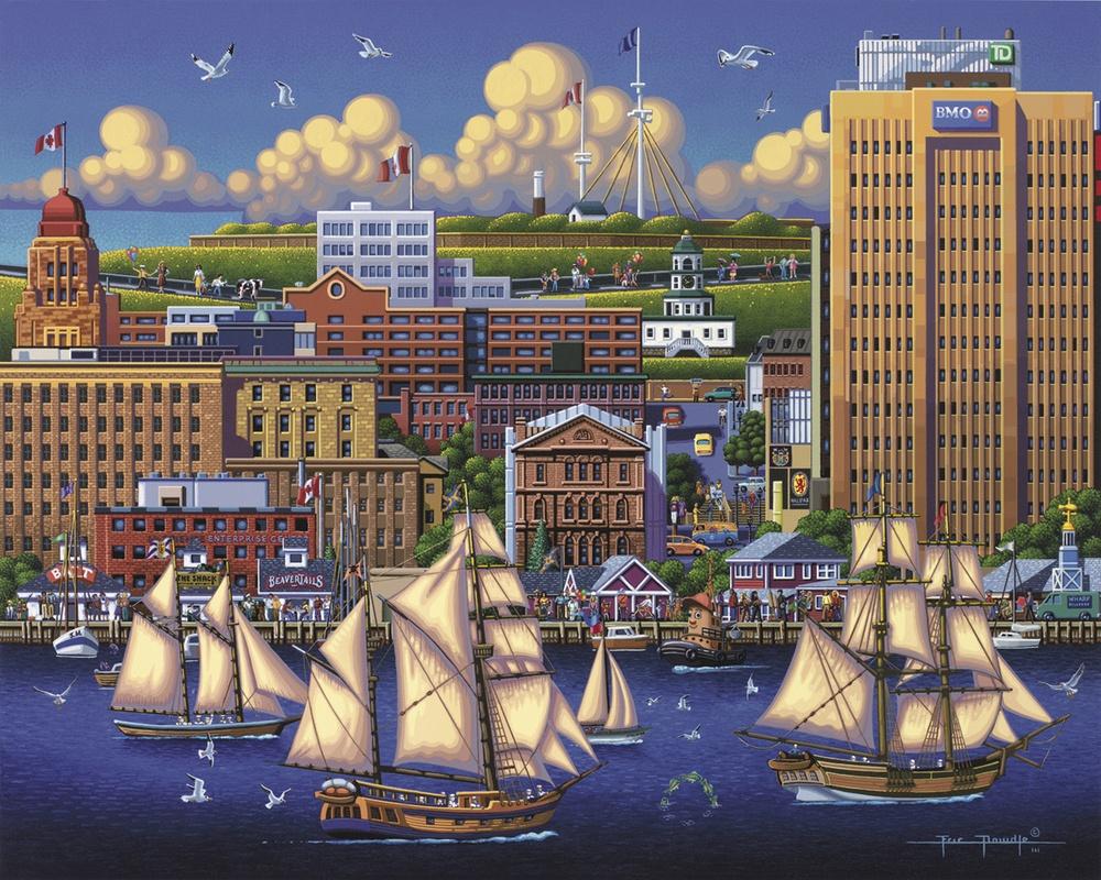 Halifax Canada Jigsaw Puzzle