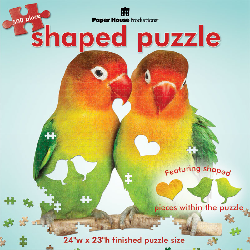 Lovebirds Birds Jigsaw Puzzle