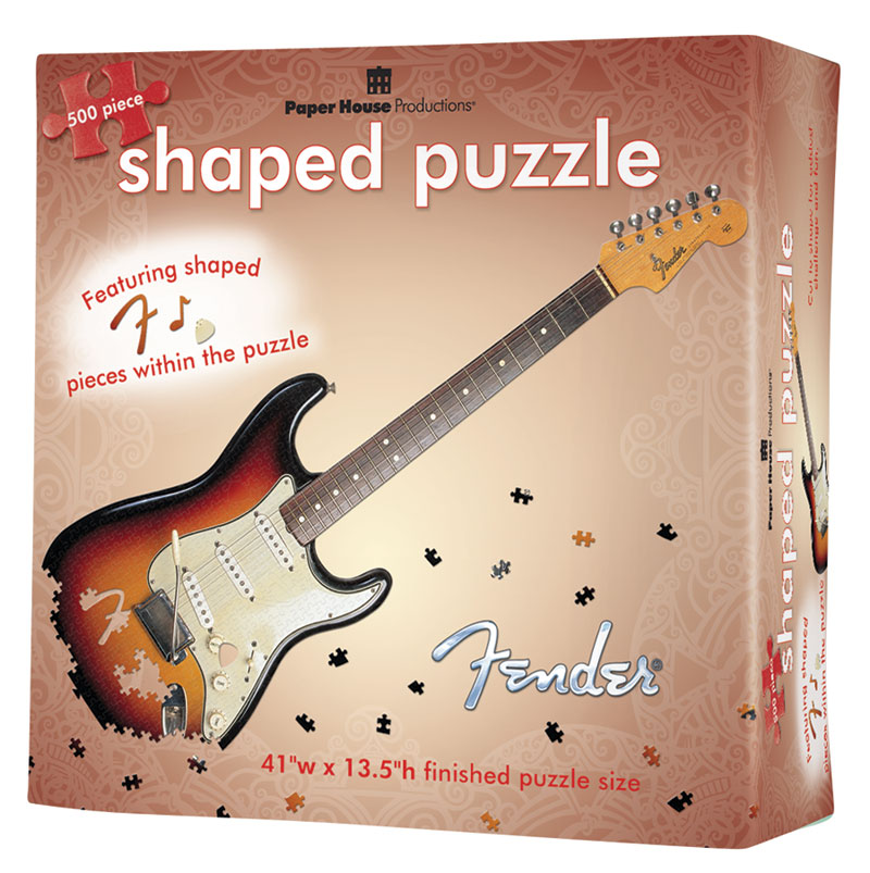 Fender Stratocaster Music Jigsaw Puzzle