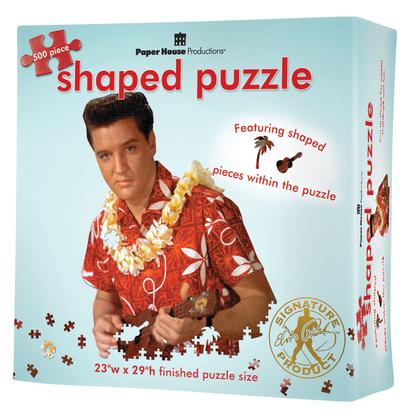 Elvis Blue Hawaii Famous People Jigsaw Puzzle