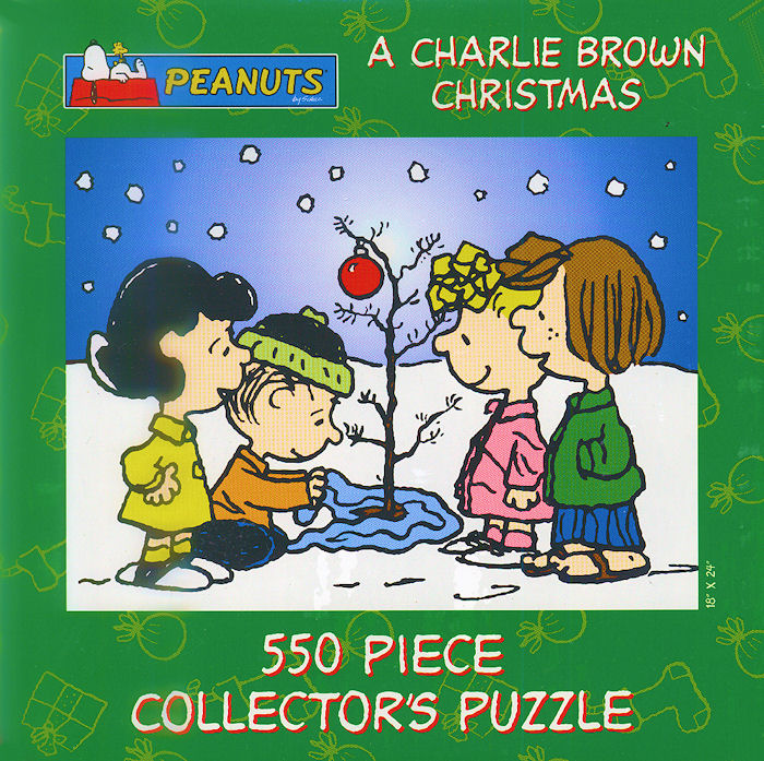 A Charlie Brown Christmas, Collectors Tin Collectible Packaging   PuzzleWarehouse.com