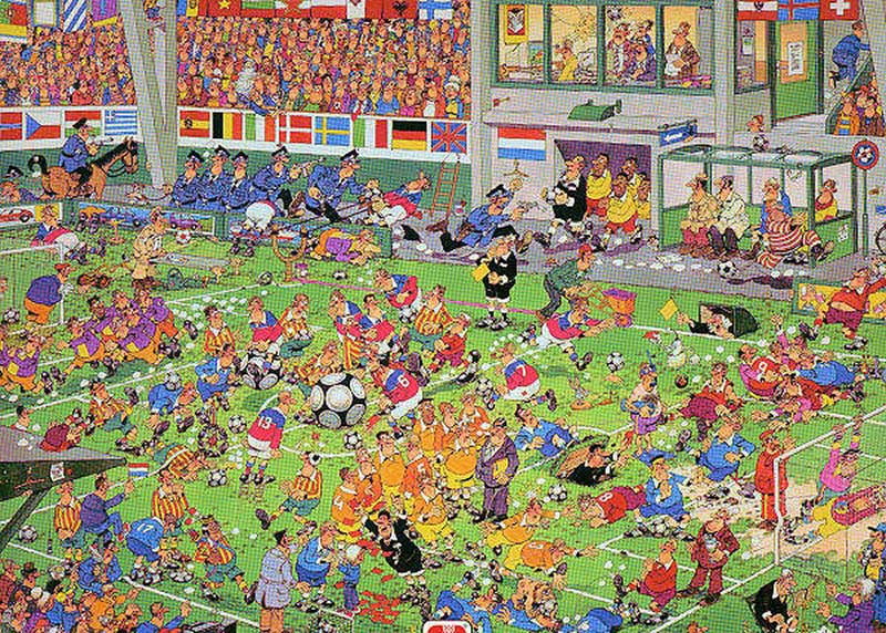 Championship Football Sports Jigsaw Puzzle