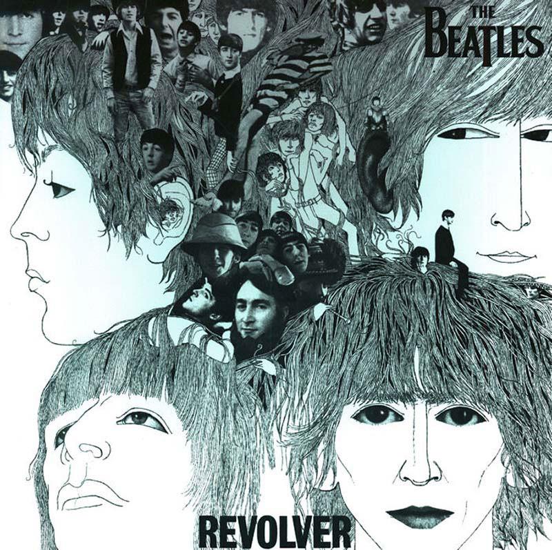 Revolver Music Jigsaw Puzzle