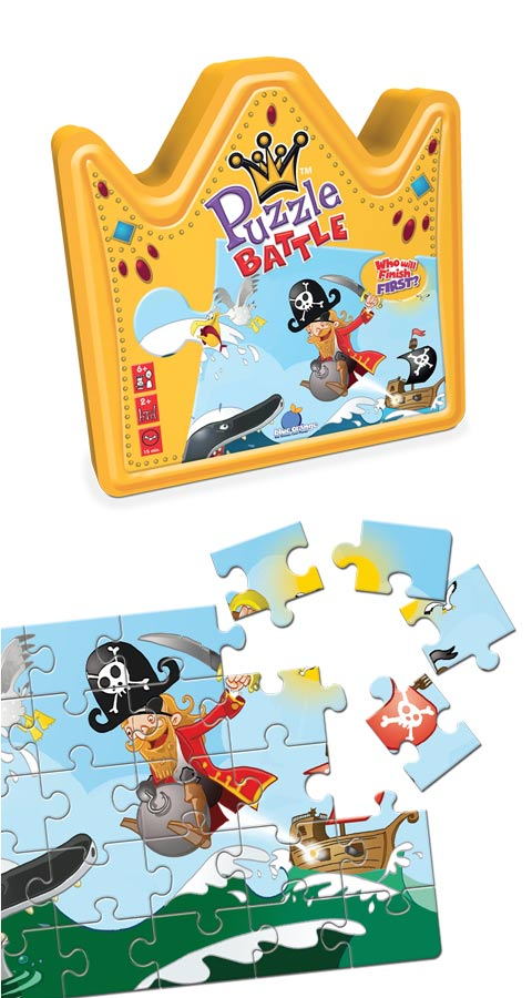 Puzzle Battle Pirates Pirates Jigsaw Puzzle