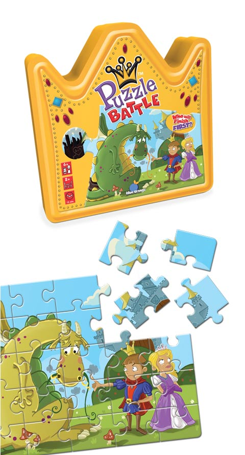 Puzzle Battle Princess Dinosaurs Jigsaw Puzzle