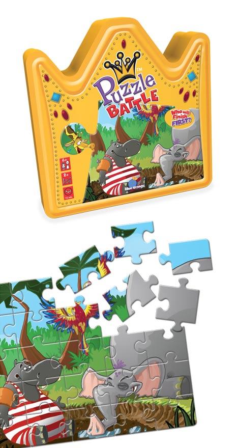 Puzzle Battle Jungle Jungle Animals Jigsaw Puzzle