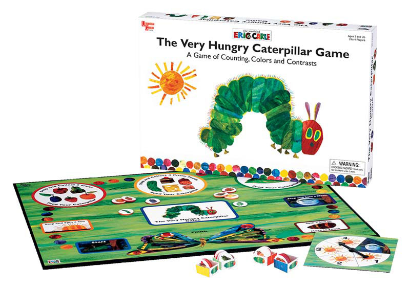 Eric Carle - Very Hungry Caterpilar Game Children's Games