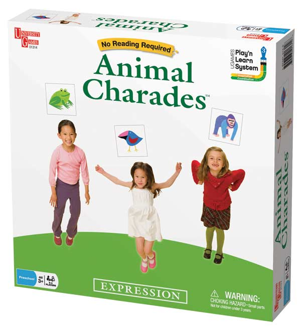 Animal Charades Other Animals Game