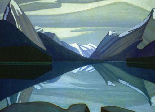Maligne Lake, Jasper Park Canada Jigsaw Puzzle
