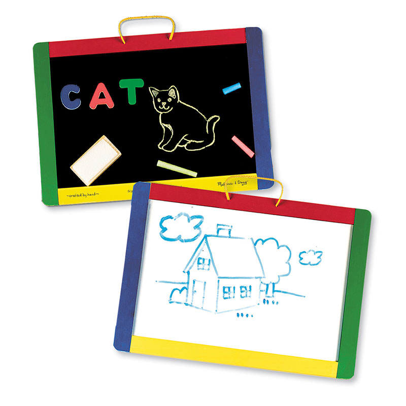 Magnetic Chalk & Dry-Erase Board
