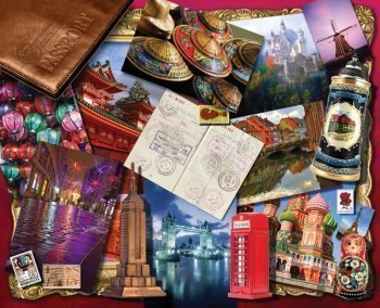 World Traveler Mother's Day Jigsaw Puzzle
