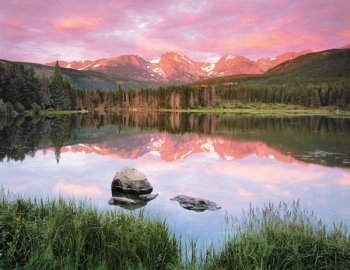 Mountain Mirror Mountains Jigsaw Puzzle