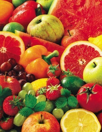 Puzzles to Remember - Colorful Fruit Food and Drink Jigsaw Puzzle