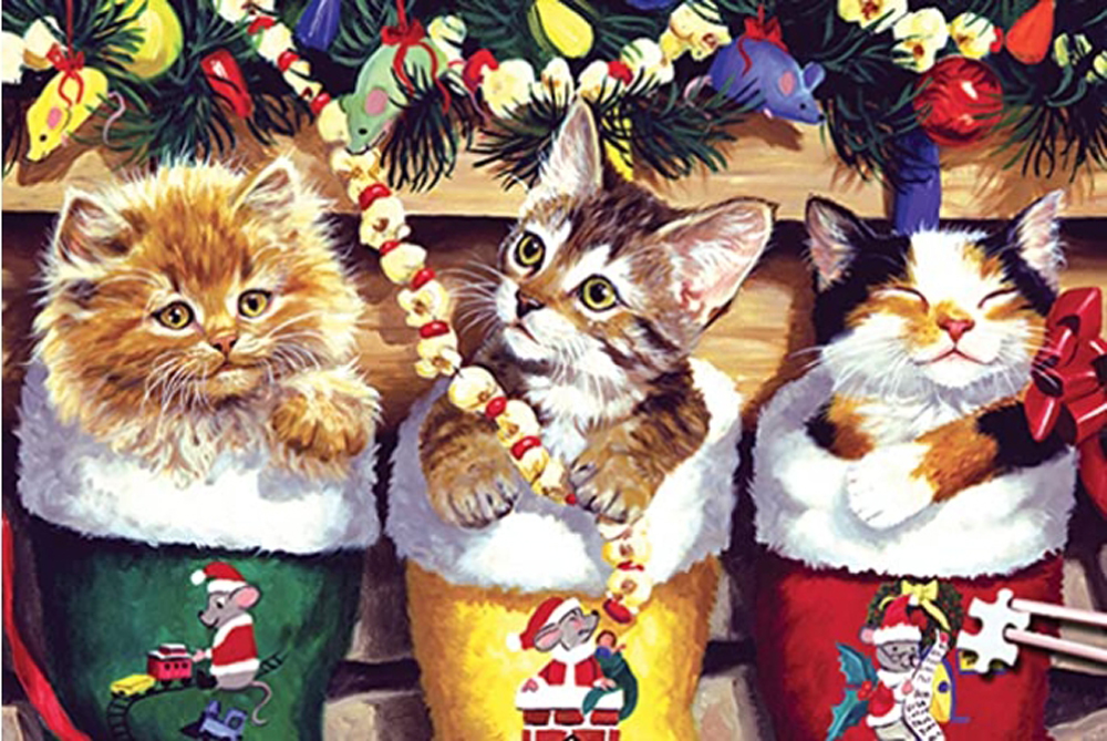 World's Smallest Jigsaw Puzzle -Stocking Stuffers Christmas Jigsaw Puzzle
