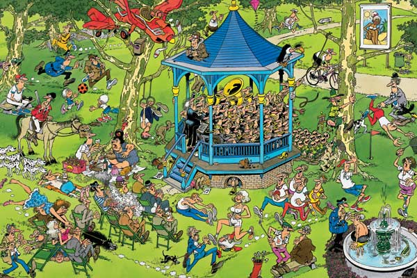 The Bandstand - 1500 Music Jigsaw Puzzle
