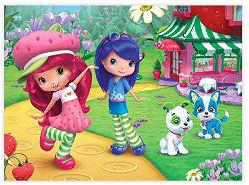Strawberry Shortcake Cartoons Jigsaw Puzzle
