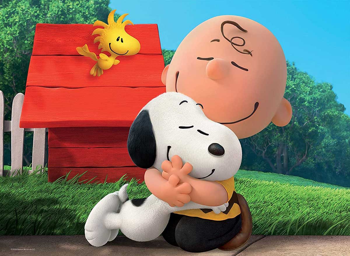 Peanuts Best Friends Cartoons Jigsaw Puzzle