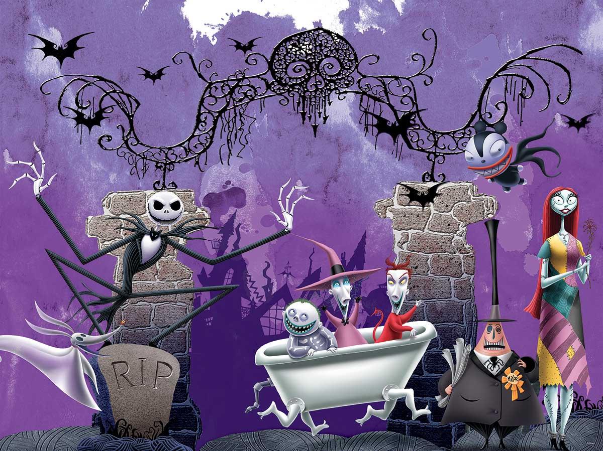 Bathtime Ghouls Disney Jigsaw Puzzle