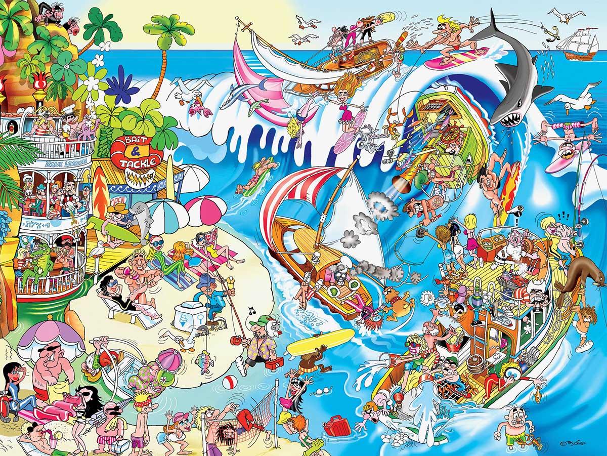 The Wave Beach Jigsaw Puzzle