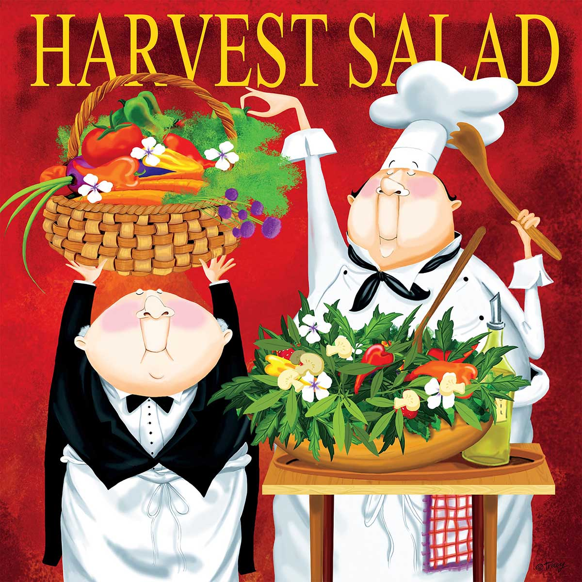 Harvest Salad Food and Drink Jigsaw Puzzle