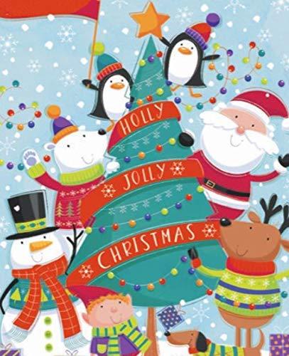 Holly Jolly Christmas Snowman Jigsaw Puzzle