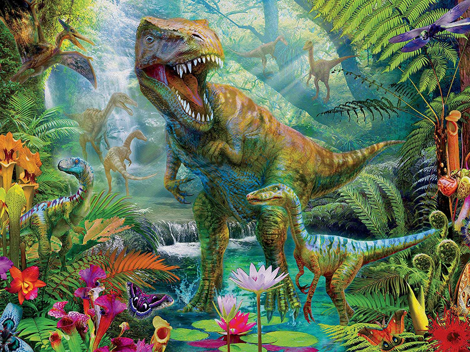 Dino Roar - Scratch and Dent Dinosaurs Jigsaw Puzzle