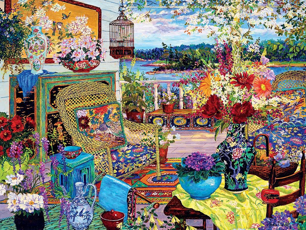 Summer Light Flowers Jigsaw Puzzle
