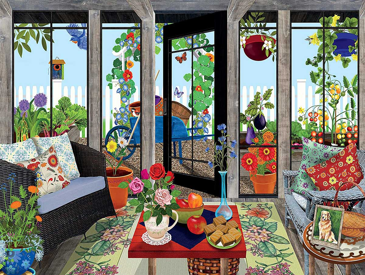 Sunroom - Scratch and Dent Garden Jigsaw Puzzle