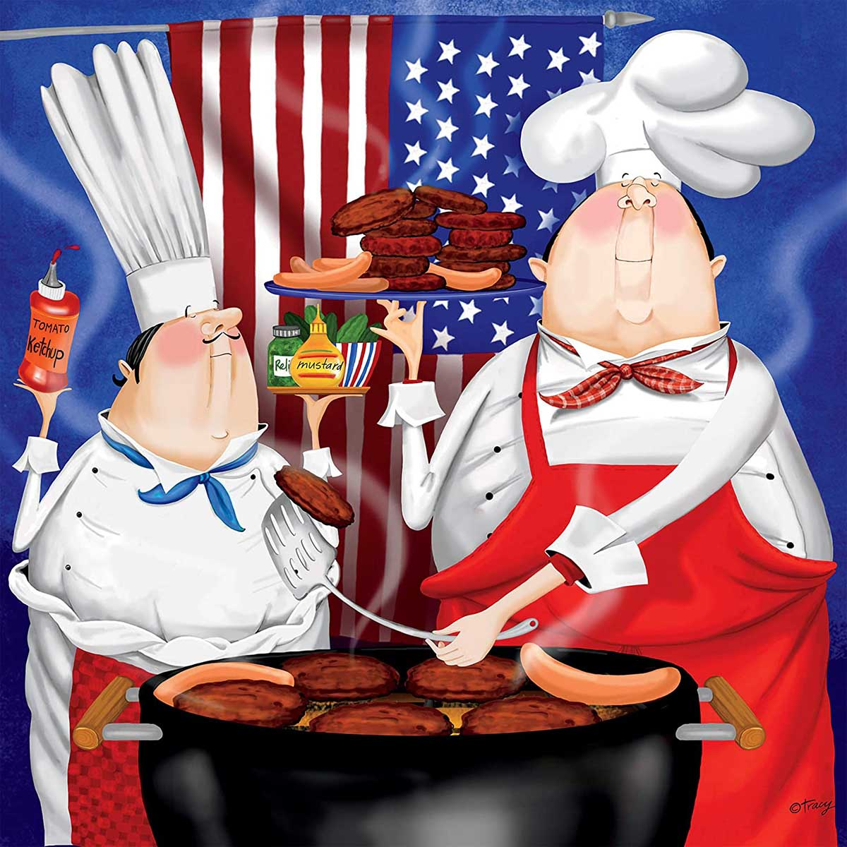 July 4th Fourth of July Jigsaw Puzzle