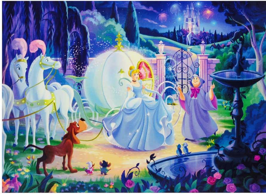 Cinderella's Carriage Disney Jigsaw Puzzle