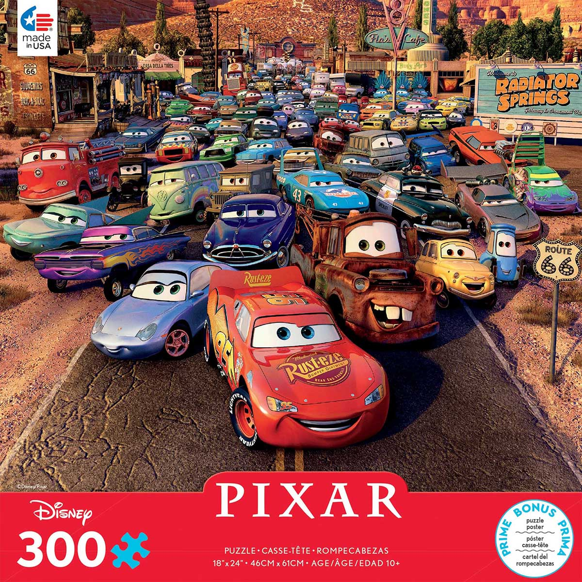 Cars Disney Jigsaw Puzzle