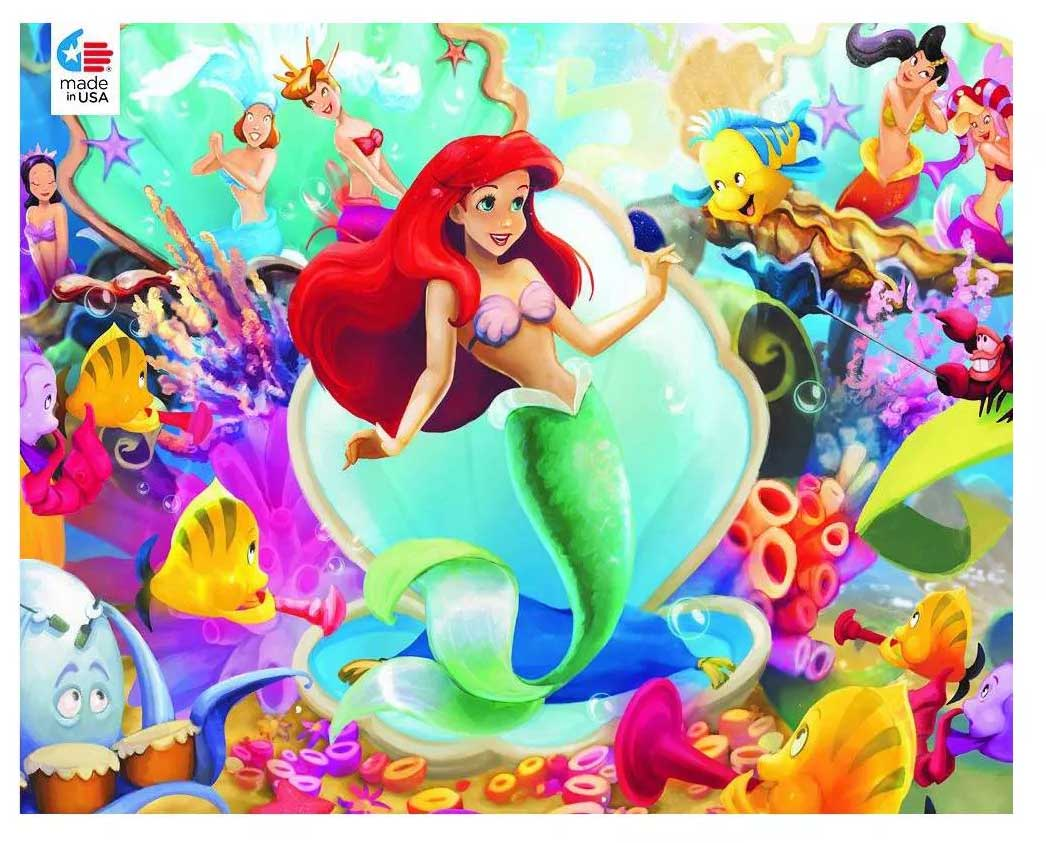 Ariel and Friends Disney Jigsaw Puzzle