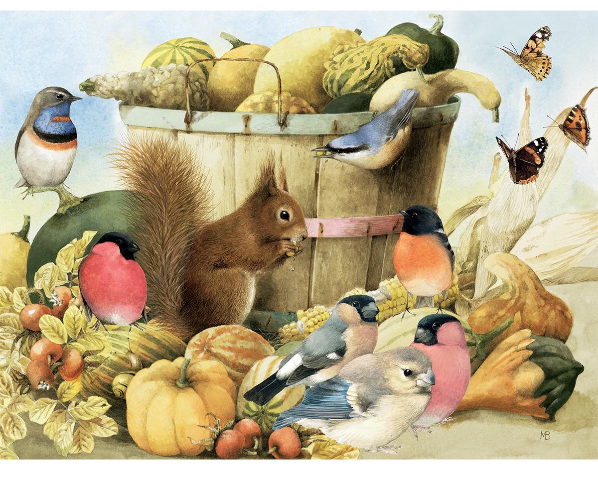 Squirrel Animals Jigsaw Puzzle