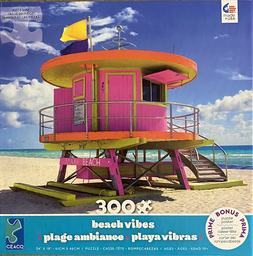 Miami Beach Jigsaw Puzzle