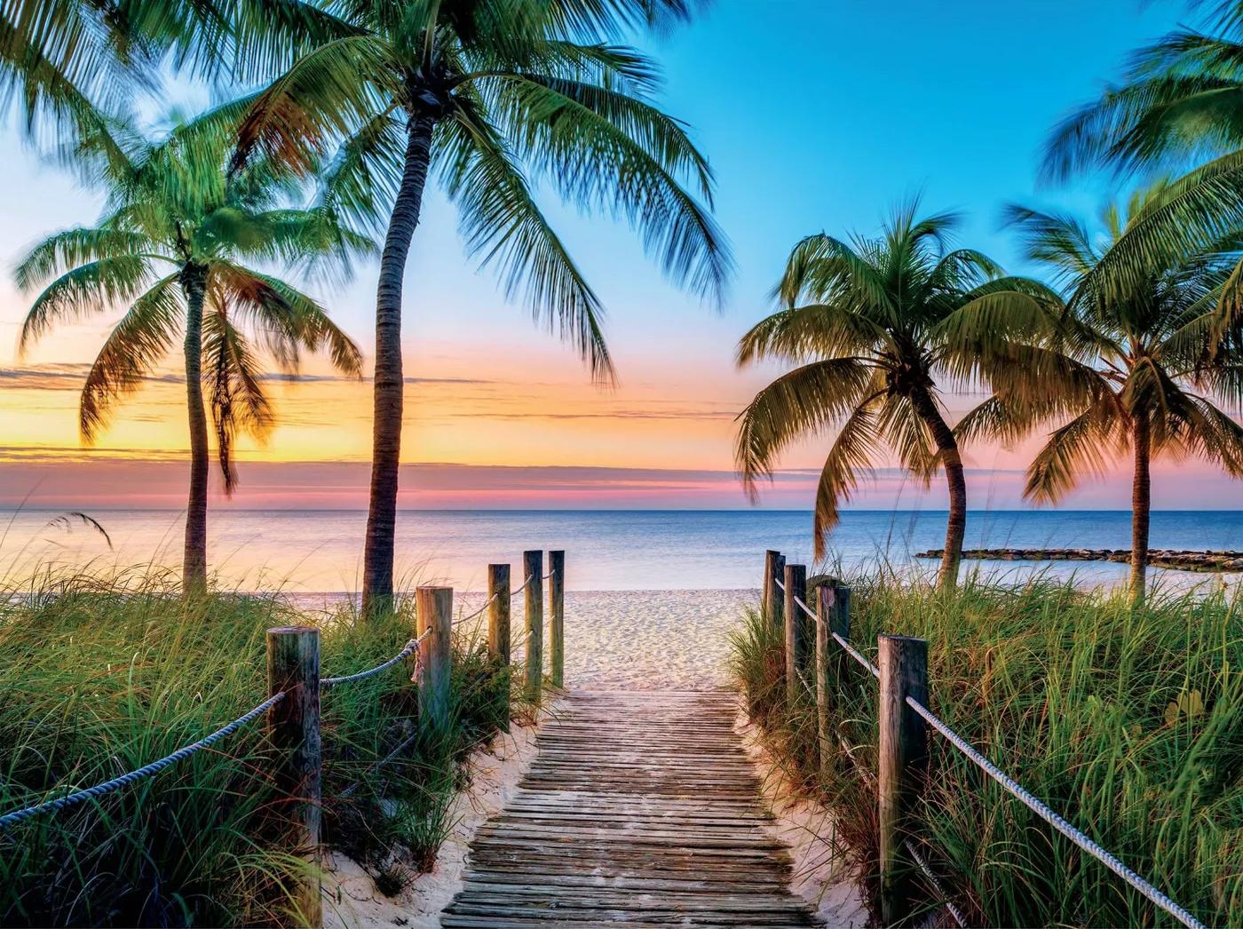 Key West Beach Jigsaw Puzzle