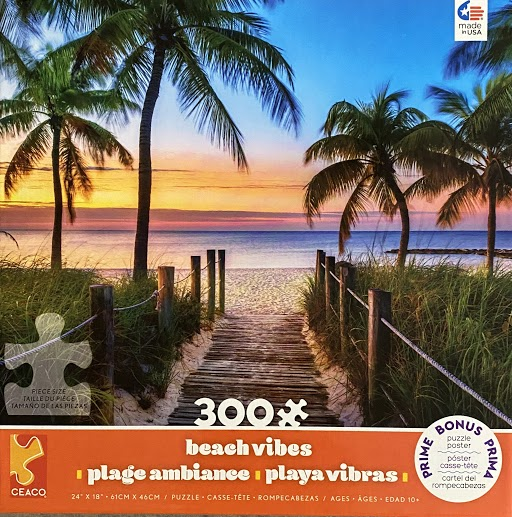 Key West Beach Jigsaw Puzzle