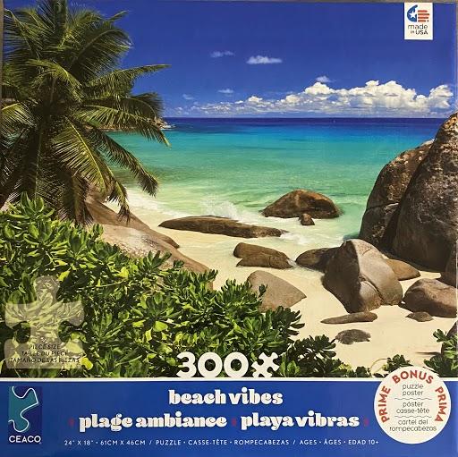 Seychelles Beach Jigsaw Puzzle