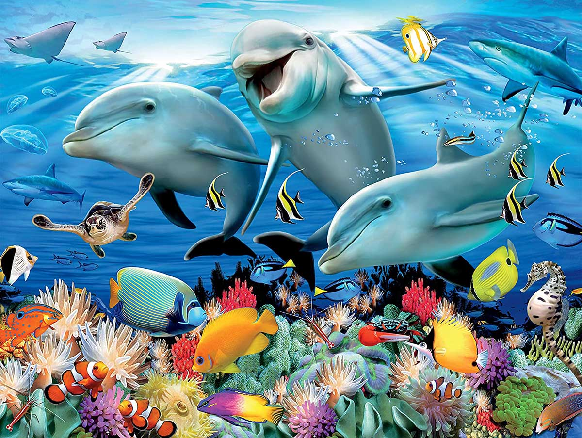 Ocean Under The Sea Jigsaw Puzzle