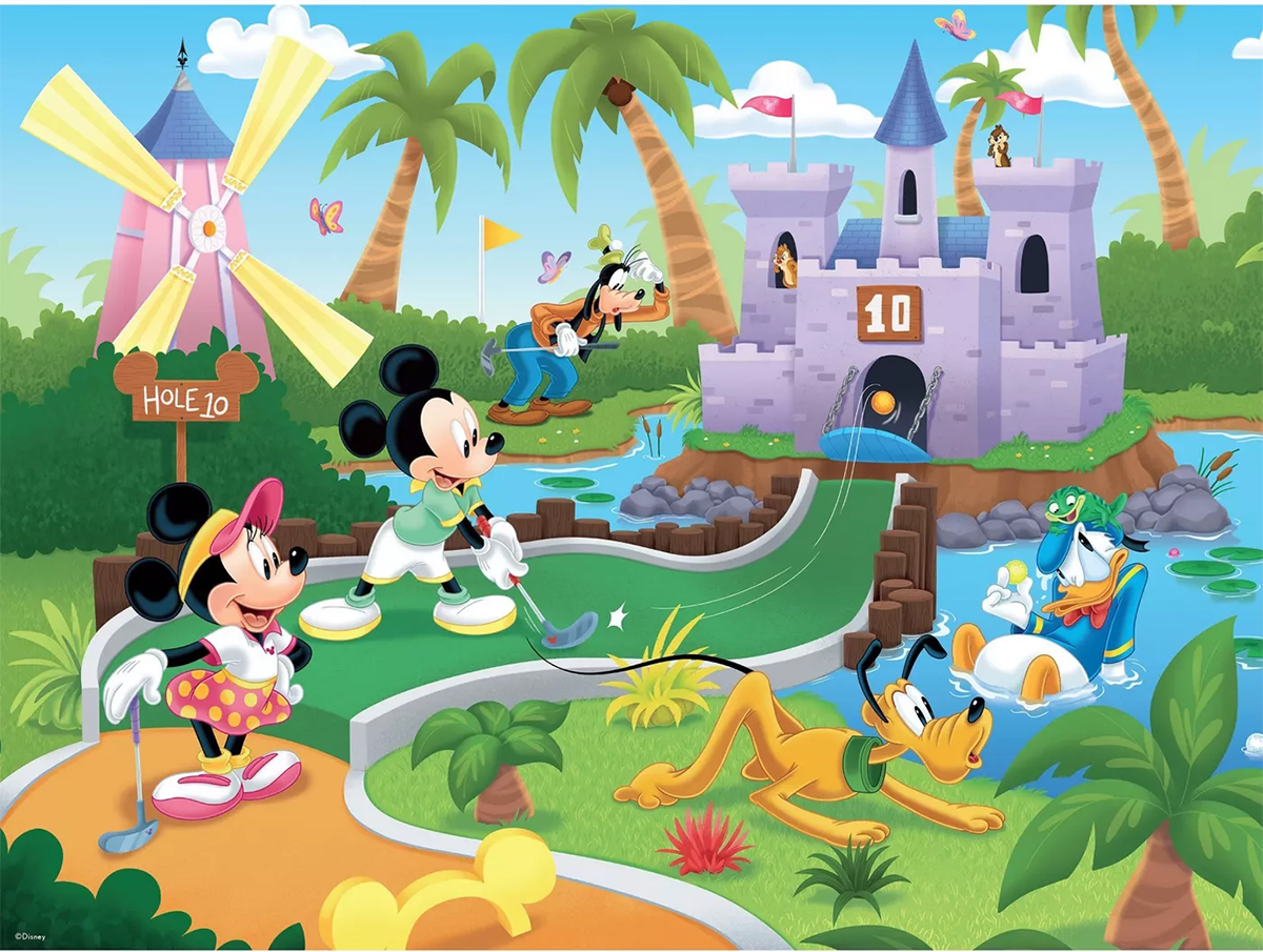 Golfing Disney Jigsaw Puzzle