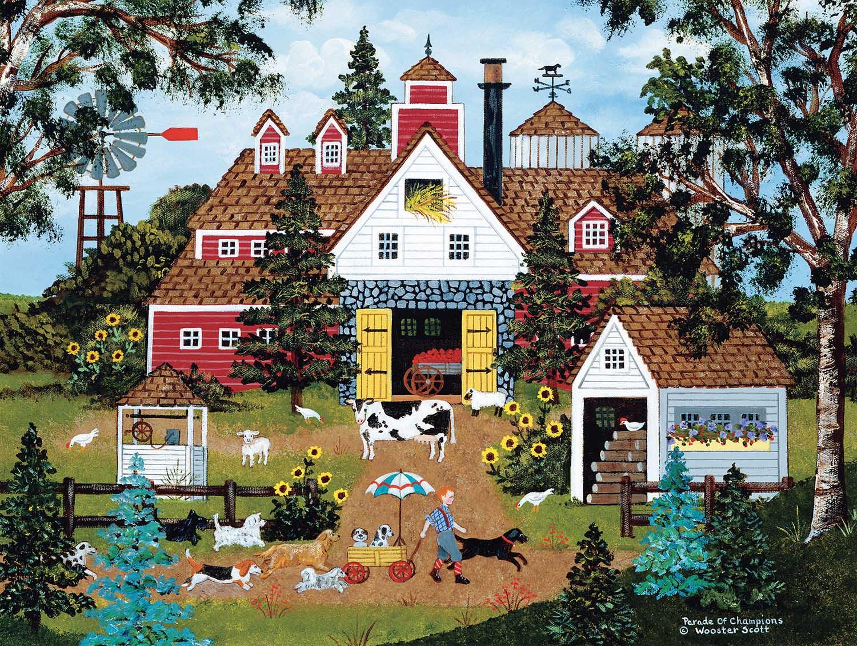 Parade of Champions Farm Jigsaw Puzzle
