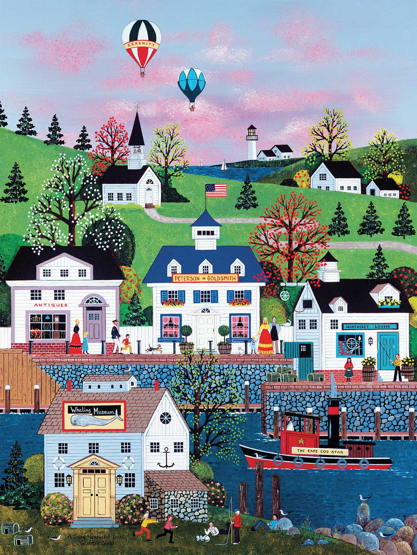 Nantucket Americana & Folk Art Jigsaw Puzzle