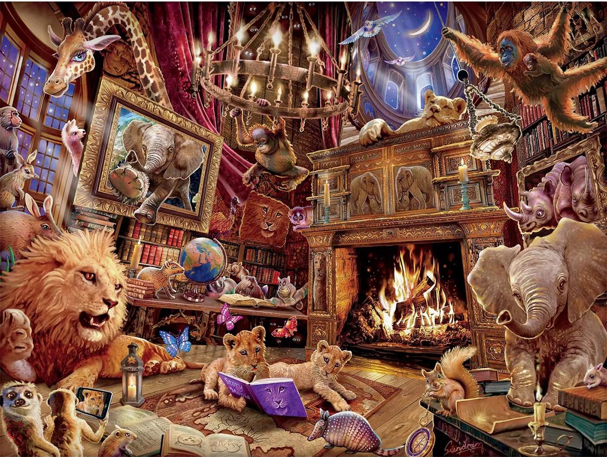 History Mania Animals Jigsaw Puzzle