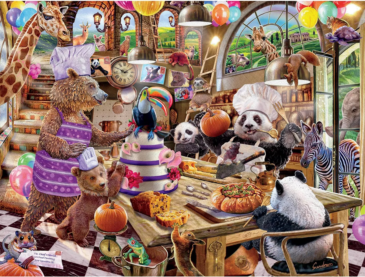 Chef Mania Animals Jigsaw Puzzle