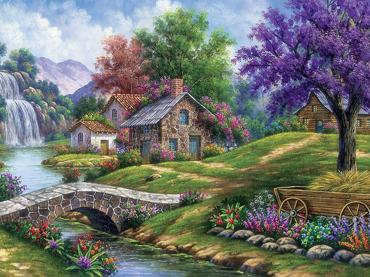 Tranquility Spring Jigsaw Puzzle