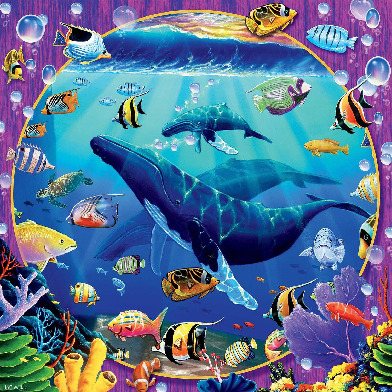 Humpback Paradise Under The Sea Jigsaw Puzzle