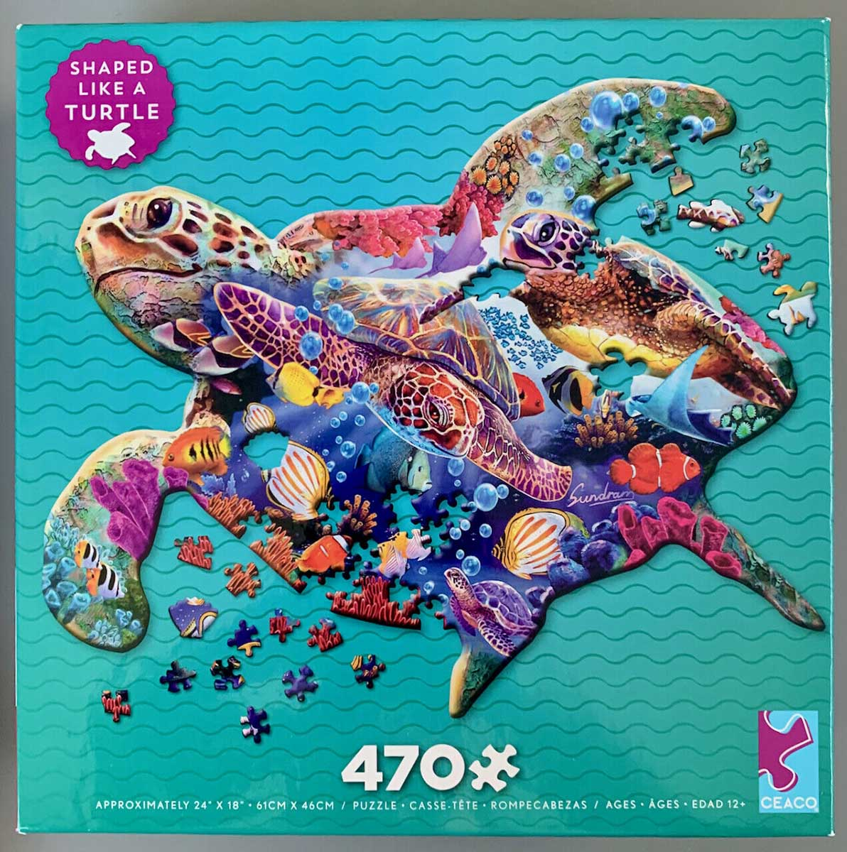 Turtle Turtles Shaped Puzzle