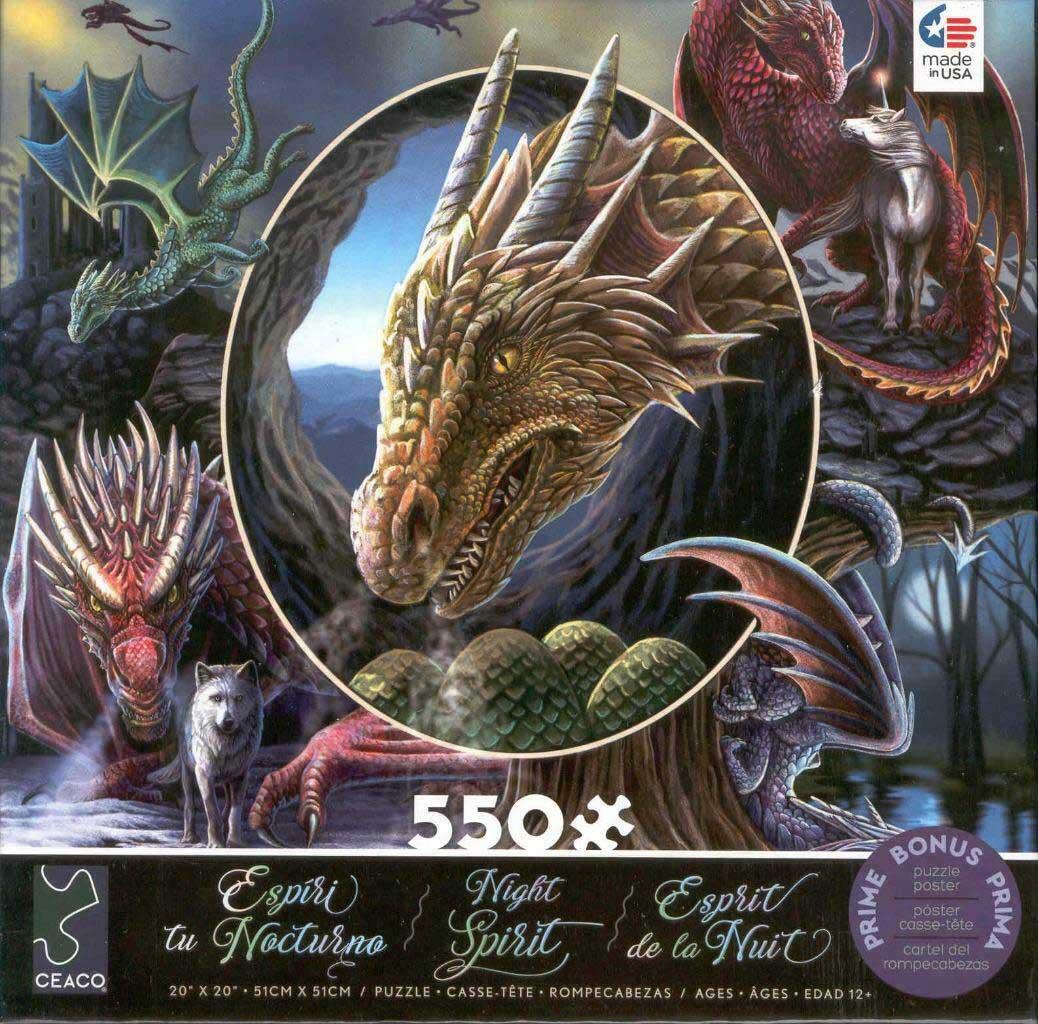 Spirit Dragons Dragons Jigsaw Puzzle