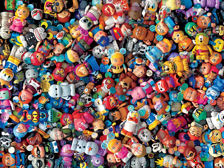 Vinylmation (Disney) Disney Jigsaw Puzzle